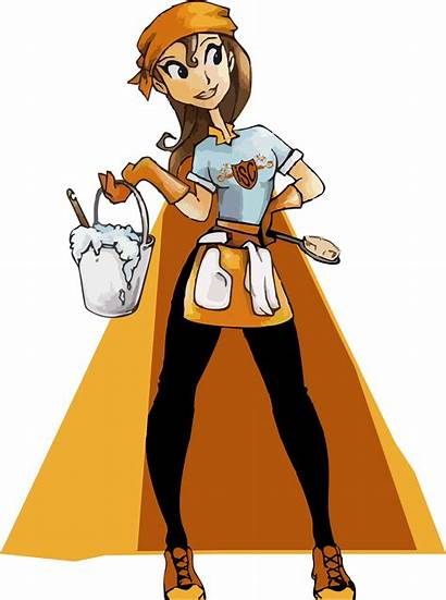 Cleaning Clipart Ladies Service Services Clipground Help