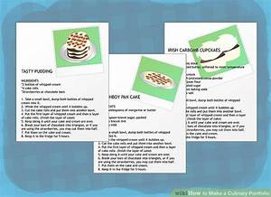 How to make a culinary portfolio 11 steps with pictures for Chef portfolio template