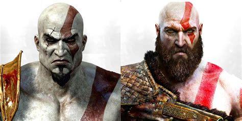 god  war la evolucion de kratos en todos los juegos de