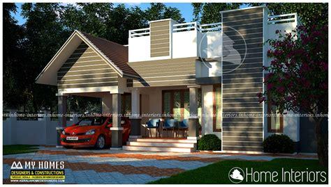 Home Design 900 Square : 900 Square Feet Single Floor Contemporary Home Design