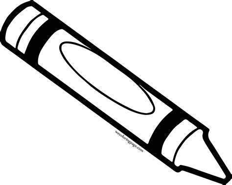 crayon  coloring pages wecoloringpagecom