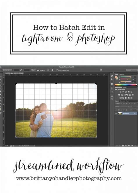 tutorial   batch edit   lightroom