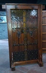 Tür Mit Lüftungsgitter : antike mittelalter t r eingangstor massivholz t r tor breite120xh he216cm alte t re mit ~ Orissabook.com Haus und Dekorationen