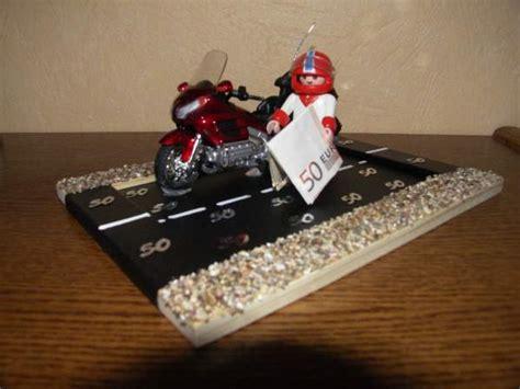 ein geldgeschenk fuer ein motorrad
