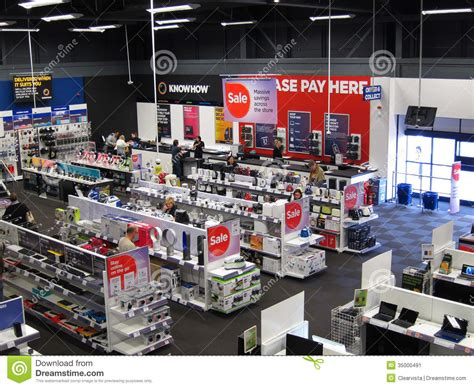 electrical appliance store editorial photo