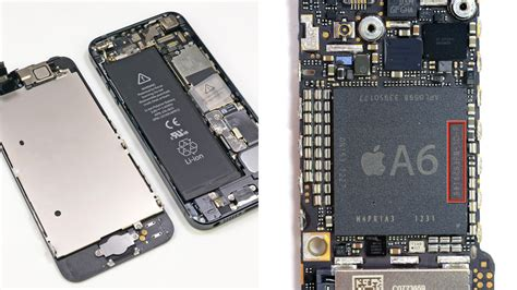 iphone processor iphone 5 deconstructed packed with power efficient parts