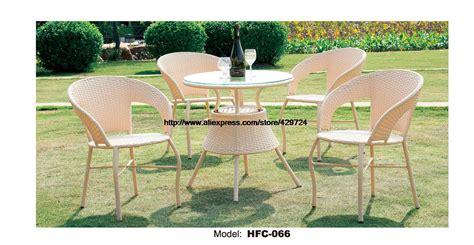 promotion modern beige rattan furniture wicker garden set