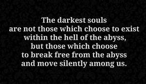 18 best Dark or... Morbid Inspirational Quotes