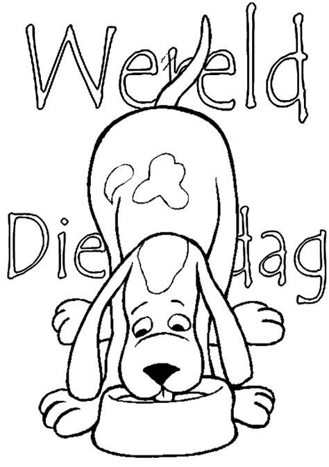 Kleurplaat Deir animalsday coloring pages