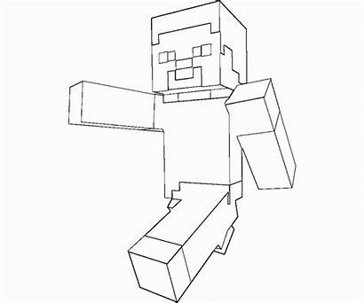 Coloring Minecraft Skins Pages Popular