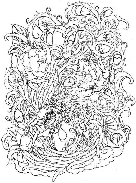 Phoenix with Flowers by ~Metacharis on deviantART | Want New Tats | Ribbon tattoos, Tattoos