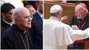 Ex-U.S. Nuncio: Pope Francis Covered for McCarrick, Must ...