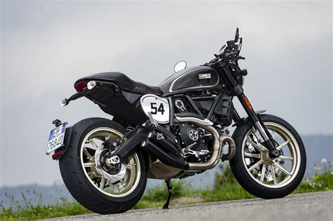 Ducati Scrambler Cafe Racer Image by Ducati Scrambler Cafe Racer Ride Review Revzilla