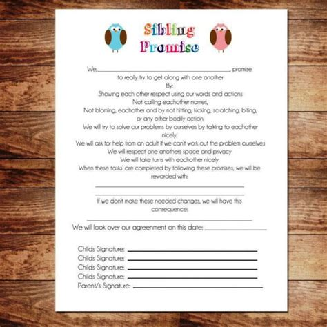 contract template  kids sampletemplatess