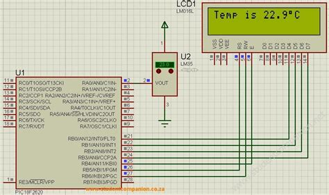 Digital Thermometer Using Pic Microcontroller
