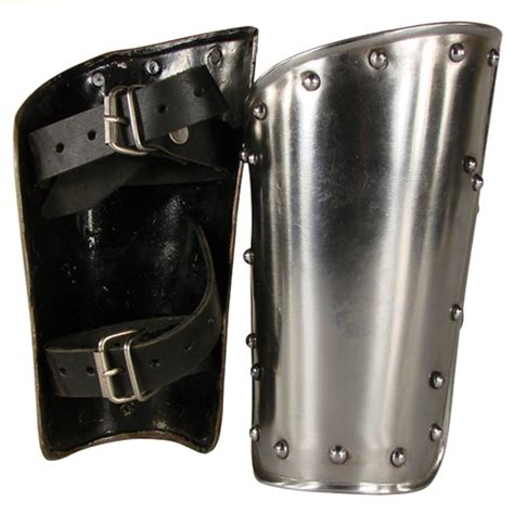 arm steel bracers warrior armor medieval metal vambraces knight guard vambrace fantasy armour gothic battle ready gauntlets leather arms tweet