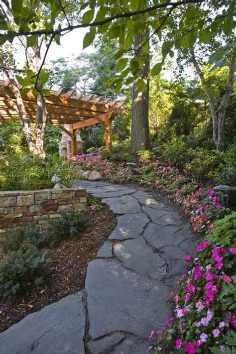 landscape walkway 172 best images about garden paths and walkways on pinterest landscaping gardening and gardens