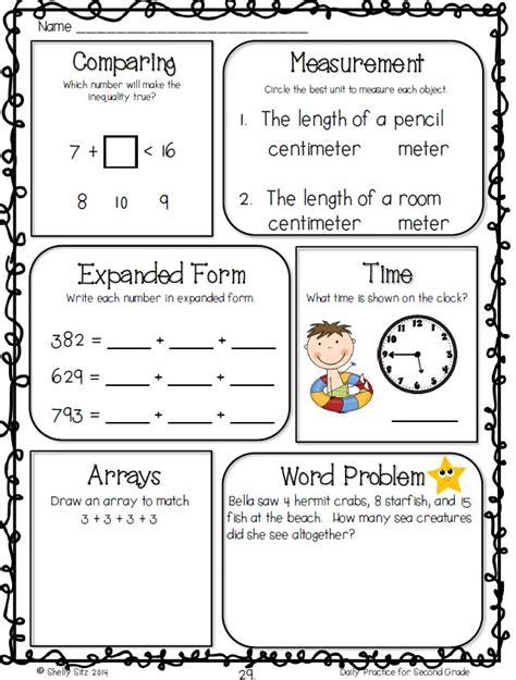 common core math worksheet   grade  measurement
