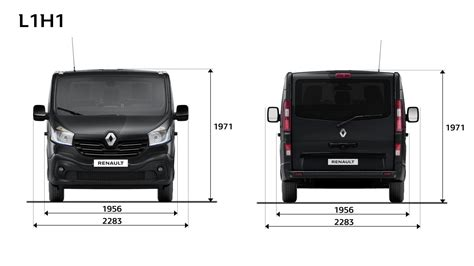 Abmessungen  Trafic Spaceclass Renault