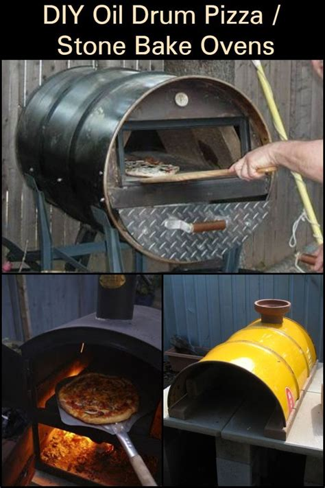 turn  oil drum barrel   pizza oven diy pizza