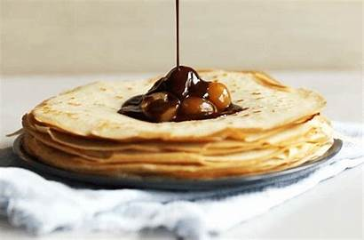 Crepe Crepes French Gifs Nutella Pancakes Animated