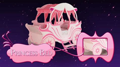 princess carriage pumpkin theme bed bedroom furniture for children from devils