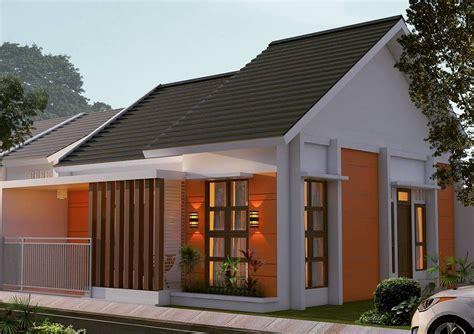 desain rumah minimalis pintu samping home design interior