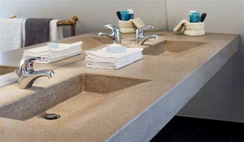baenkskiva  betong foer badrummet