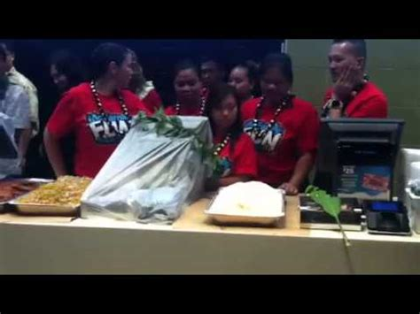 cuisine priest hawaiian priest blessing food at mcdonald 39 s