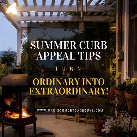 summer curb appeal tips turn ordinary  extraordinary