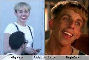 Miley Cyrus and Simple Jack Separated at Birth: 40 ...