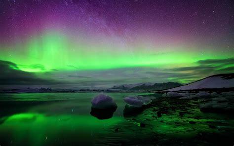 Hd Wallpaper Northern Lights Northern Lights Wallpaper 21154 1920x1200 Px Hdwallsource Com