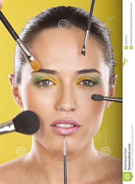 full beauty treatment stock photo image