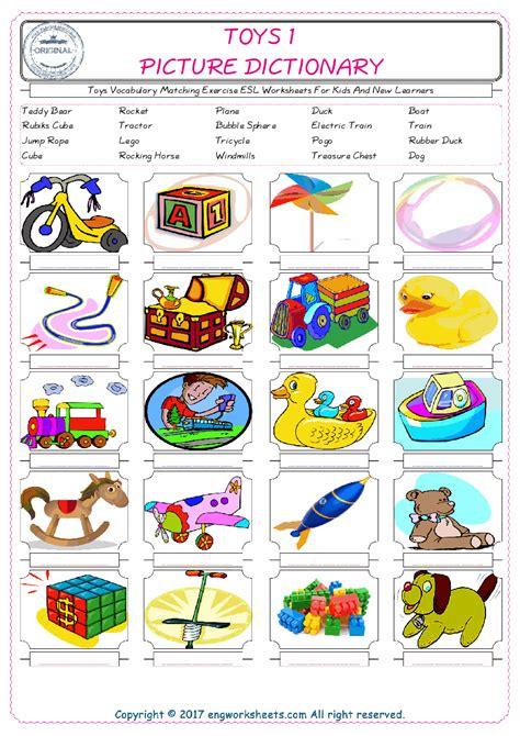 kitchen esl printable vocabulary worksheets