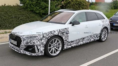 Audi Rs 4 Facelift 2019 Motor Ausstattung by 2020 Audi Rs4 Avant Spied Up Showing Its Facelift
