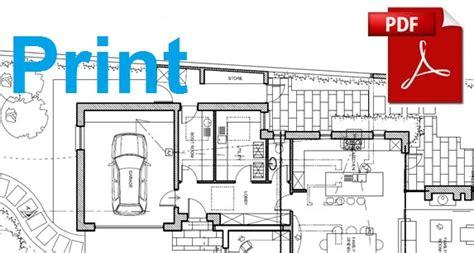 print  section    floor plan