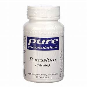 Pure Encapsulations Potassium Citrate - 90 Capsules ...