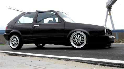 golf 2 airride golf ii on air ride and 17 quot lemans