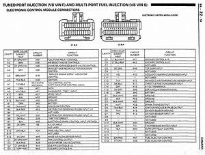 Need Diagram 85 Camaro Ecm Pins