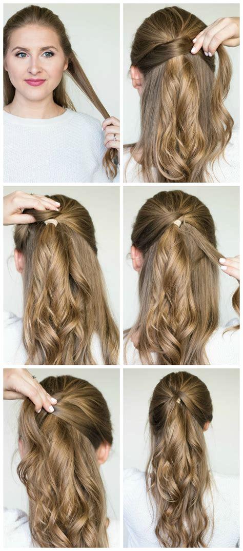 quick easy hairstyle tutorials best shoo