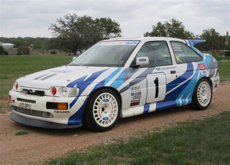 Ford Rally Car by Ford Rs Cosworth Rally Car For Sale On Bat Auctions