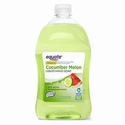 Soap Hand Cucumber Equate Melon Liquid Walmart