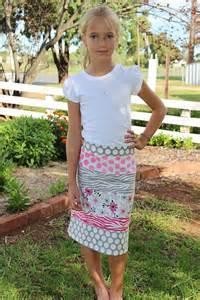 Girl Little Skirt Pattern