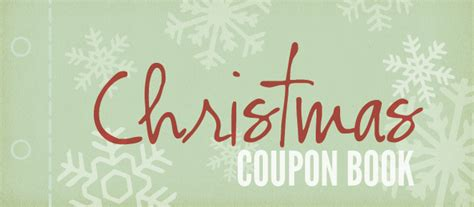 Homemade Coupon Book, Free Homemade Christmas Coupon Book