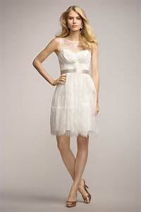 Casual white sleeveless short sheath pleated lace for Casual lace wedding dress