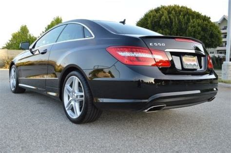 Truecar has over 803,980 listings nationwide, updated daily. Sell used 2013 Mercedes-Benz E550 Coupe! Package 2! AMG Pck! DESIGNO Pck! Loaded! Beauty! in Los ...