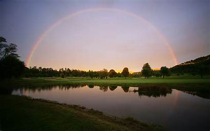 Nature Rainbows River