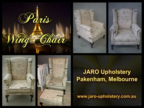 Upholstery Melbourne by Wing Chairs By Jaro Upholstery Pakenham Melbourne