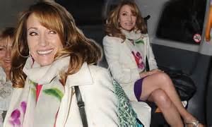 Jane Seymour shows off her fabulous legs on a ladies ...
