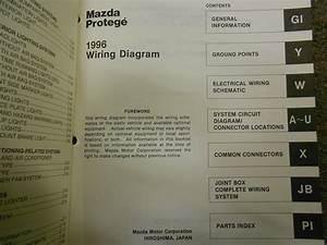 1996 Mazda Protege Service Repair Shop Manual Huge Set